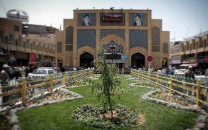 بازار رضا یکی از مراکز خرید مشهد