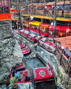 رستوران های دربند تهران