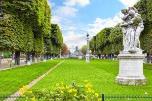 باغ لوکزامبورگ یکی از جاهای دیدنی پاریس