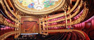 سالن اپرای گارنیه یکی از جاهای دیدنی پاریس