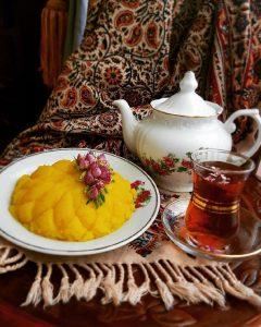 حلوا کاسهای سوغات شیراز