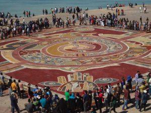 جشنواره فرش جزیره هرمز