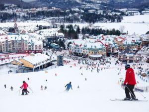اسکی در کبک کانادا