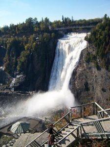 آبشار معروف کبک کانادا