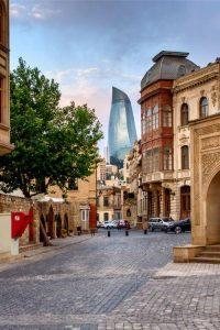 شهر قدیمی جاهای دیدنی باکو