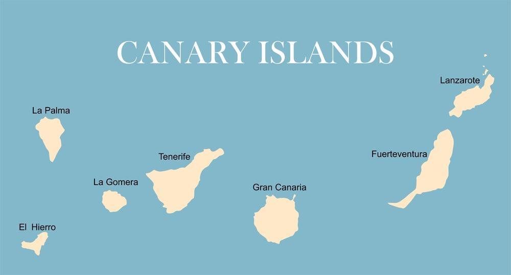 نامهای جزایر قناری