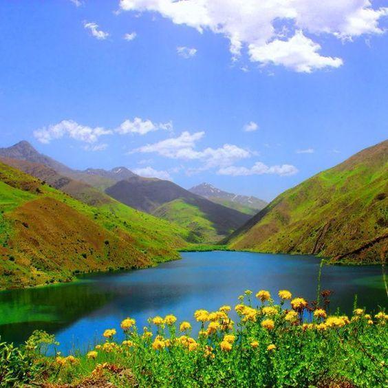 جاذبه های دریاچه گهر