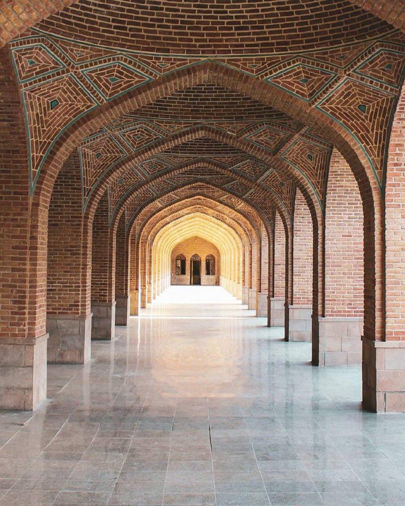 مهندسی مسجد کبود