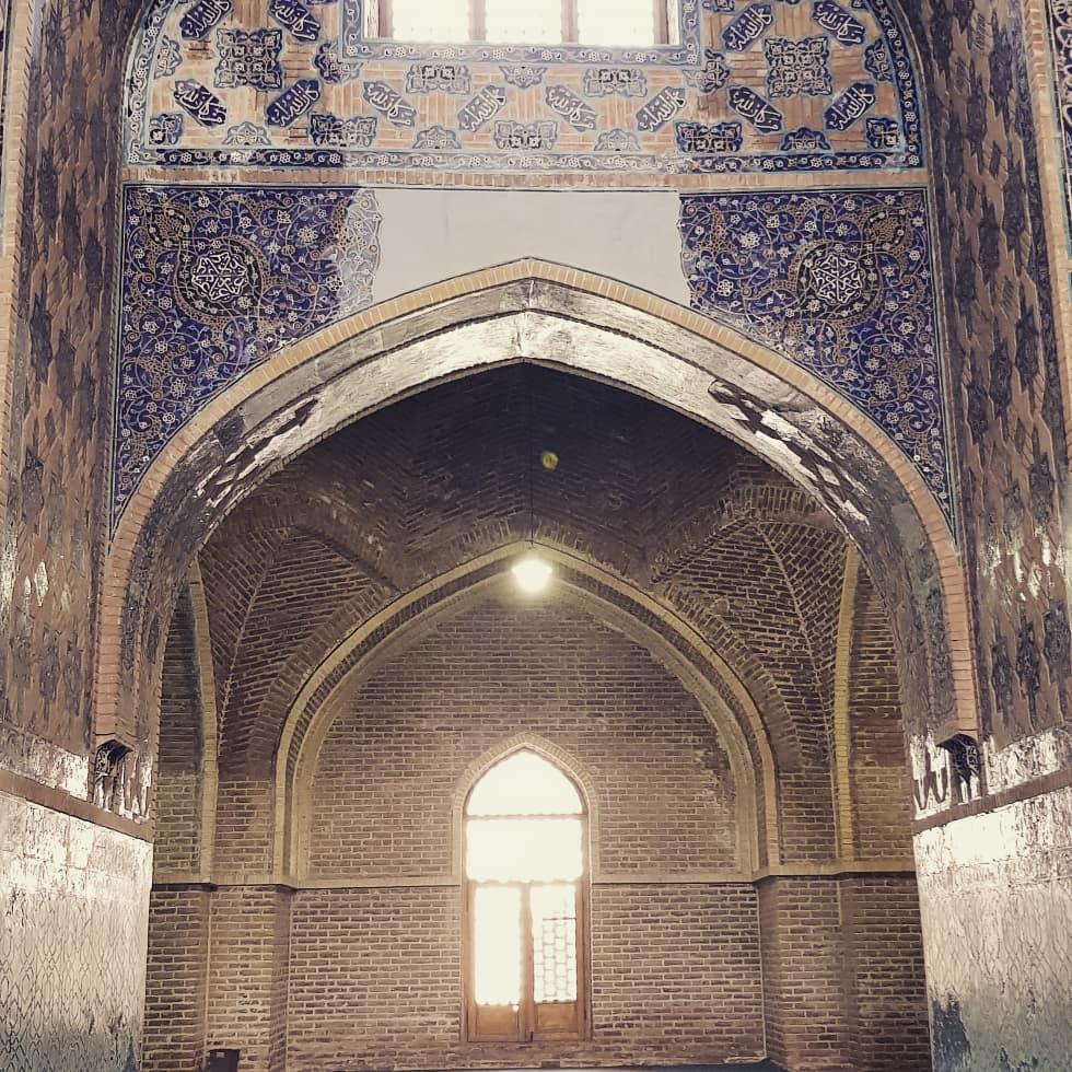 شبستان مسجد کبود تبریز