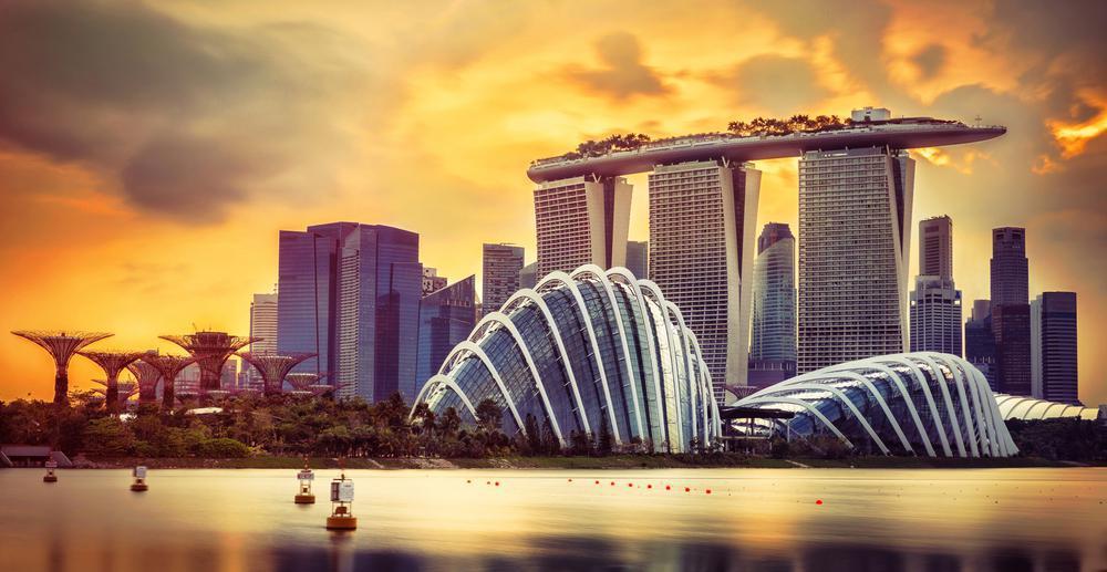 مارینا بی سندز نماد سنگاپور