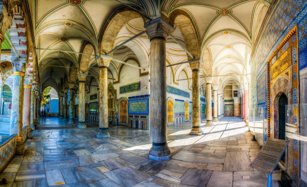 قصر توپکاپی جاذبه گردشگری کشور ترکیه