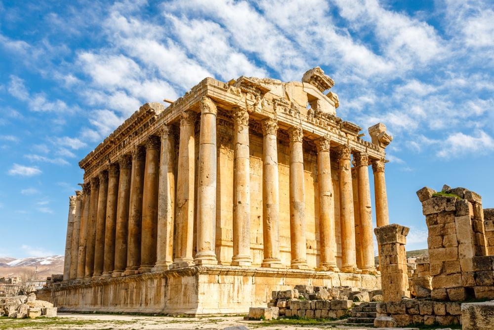 جاذبههای تاریخی لبنان