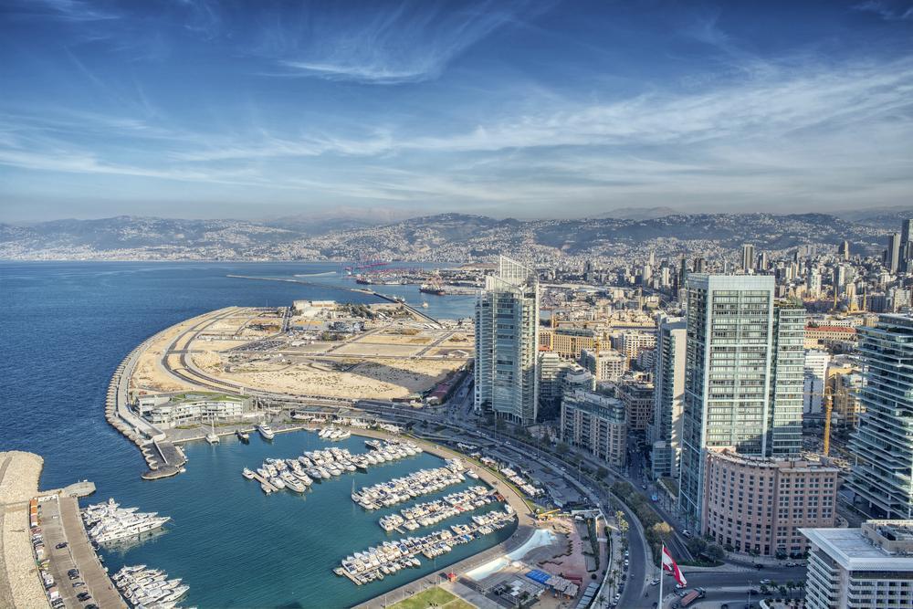بیروت یکی از جاهای دیدنی لبنان