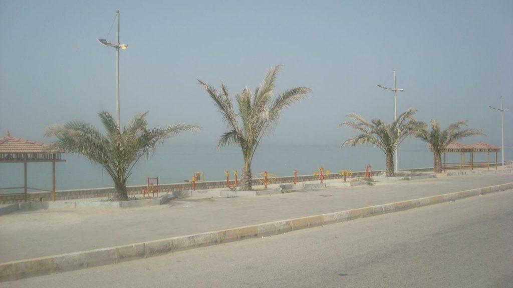 بندر سیراف در جنوب ایران