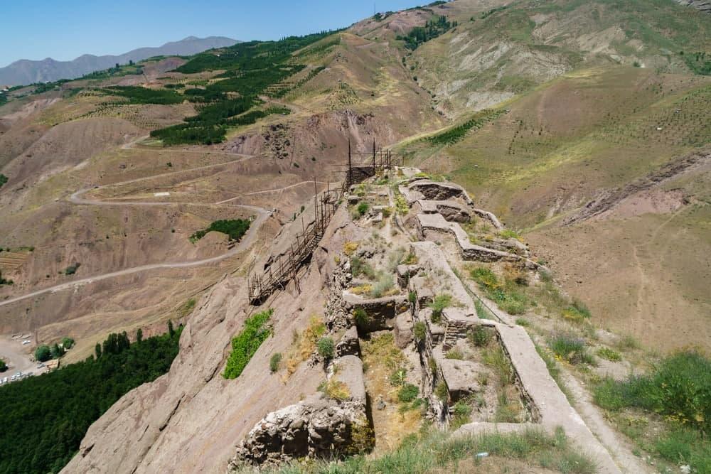 پله نوردی تا قلعه الموت