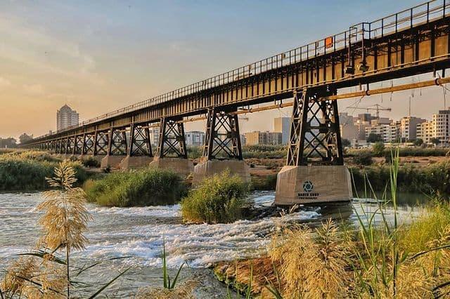 دیدن اولین پل اهواز؛ پل سیاه